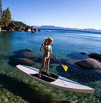Sup Boarding Lake Tahoe